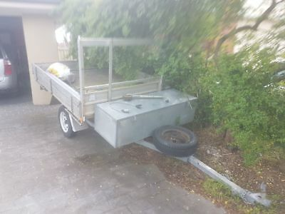 Trailer single axle/ bike trailer