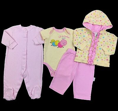 Infant Baby Girl Clothes Size 6-9 Months Spring Summer Outfits Mixed Lot Set