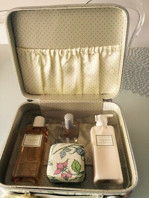 Crabtree & Evelyn Summer Hill Beauty Case Collection New EDT, Shower Gel, Lotion