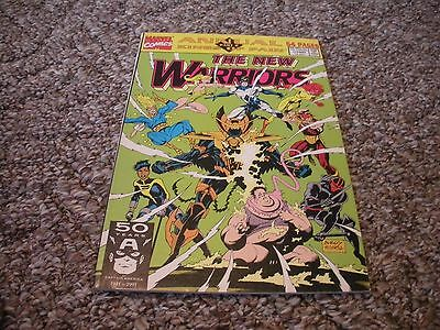 The New Warriors Annual #1 ( July, 1991) Marvel Comics VF/NM