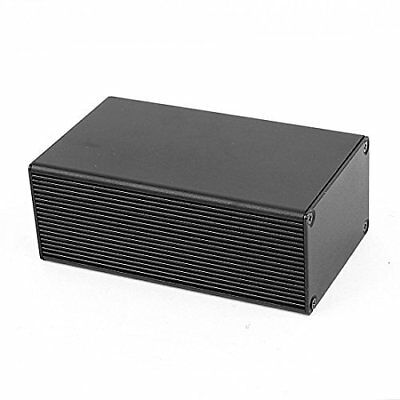 uxcell Aluminum Electronic Power DIY Junction Project Box 110x66x43mm Black