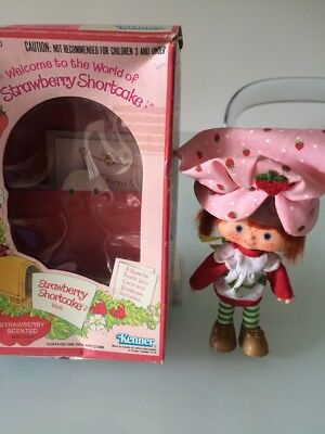 Strawberry Shortcake vintage original doll by Kenner 1980s New in Box