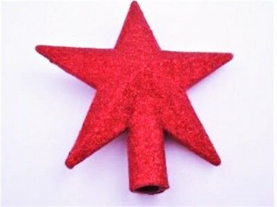 Fab Red Topper For Aluminum Christmas Tree