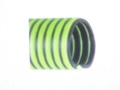 "Kanaflex 300 EPDM Green 6"" x 25' All-Weather Suction Hose Assembly - M&F CamLock"