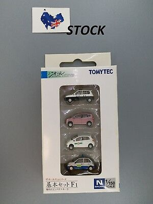 TOMYTEC N Scale 1:150 The Car Collection Basic Set F1, 4 cars set