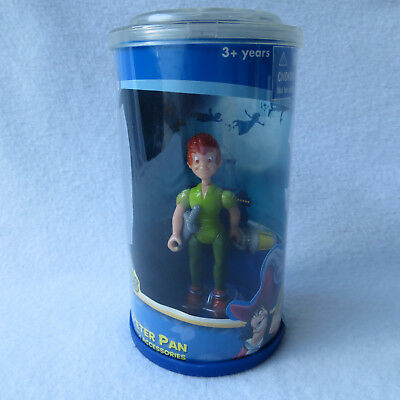 Disney Peter Pan Pirate Heroes Posable Figure w Accessories 2006 New Sealed