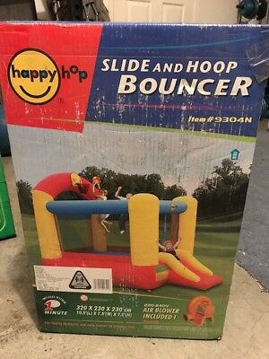 Happy Hop Slide and Hoop Bouncer
