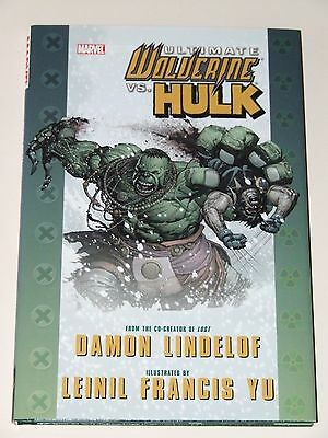 Ultimate Wolverine vs. Hulk HC (2009 Marvel)