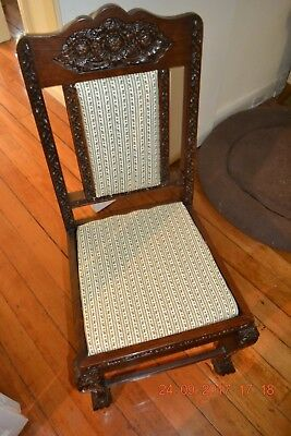 Antique hallway chair