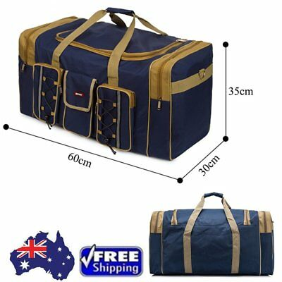 Duffle Weekend Overnight Travel Gym Bag Holdall Luggage Large tool carry bag