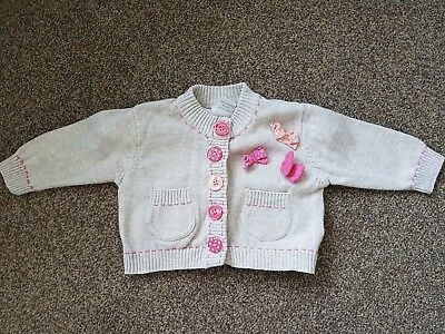 Next baby girl cardigan 0-3 months
