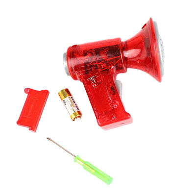 Mini LED Voice Changer Loud Superbright Children Kids Toy Sound Effects Boy Red