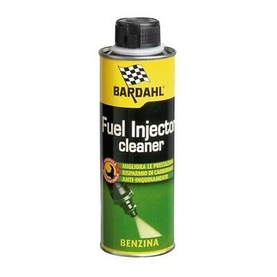 300ml PULISCI INIETTORI AUTO BARDAHL FUEL INJECTIOR CLEANER BENZINA VALVOLE