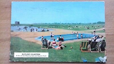 Butlins Clacton - A Part Of The Boating Lake And Sports Field = C 9