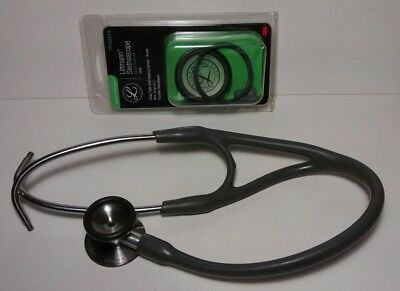 Littmann Cardiology Ii 3M Stethoscope W/new Parts Kit Excellent Condition
