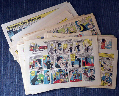Dennis the Menace 1976 Sunday comic strips complete - Hank Ketcham