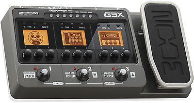 G3X Zoom Looper Effets Wah-Wah Pedale Multi Boucle Effects
