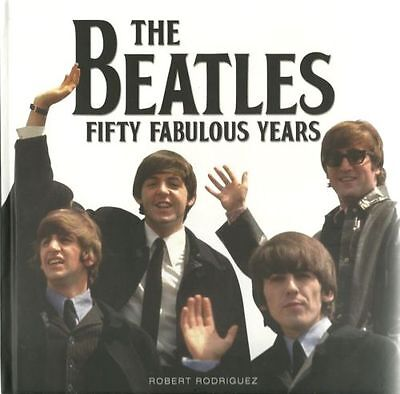 The Beatles Fifty 50 Fabulous Years  Big Book Of Hard Back