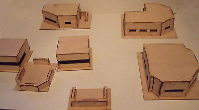Large Bunker Bundle - Wood scenery terrain for warhammer 40k + bolt action