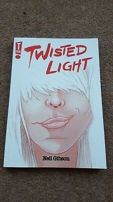 Twisted Light By Neil Gibson Graphic Novel