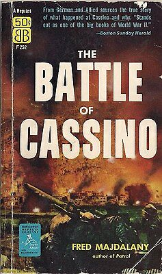 The Battle For Cassino by Fred Majdalany