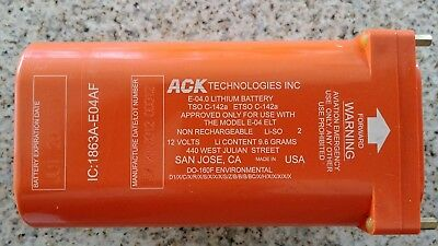 ACK E-04 ELT Battery (Expired)