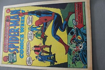Marvel Comics Spiderman # 2 1973 Bronze Age Uk