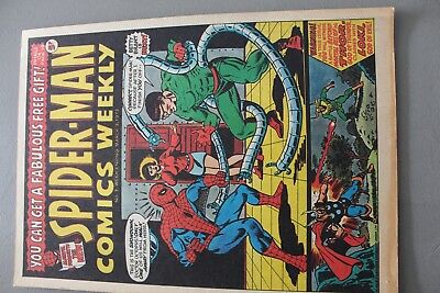 Marvel Comics Spiderman # 3 1973 Bronze Age Uk