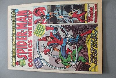 Marvel Comics Spiderman #4 1973 Bronze Age Uk