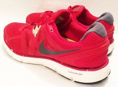 Nike Running Shoes Mens Size 10.5 454164 Nike Lunarglide 3 Running Shoes Red