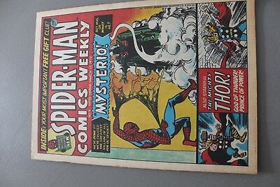 Marvel Comics Spiderman #5 1973 Bronze Age Uk