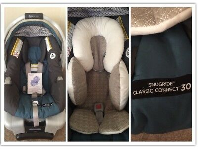 graco snugride click connect 30 infant car seat with click connect base