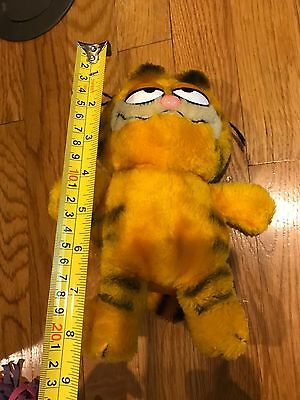 Vtg 1981 Garfield Plush Stuffed Cat applause