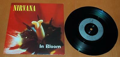 "Nirvana - In Bloom - 1992 UK  7"" Single"