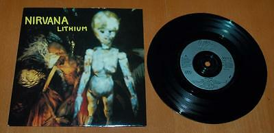"Nirvana - Lithium - 1992 UK  7"" Single"