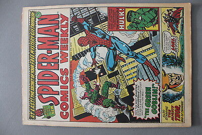 Marvel Comics Spiderman #6 1973 Bronze Age Uk