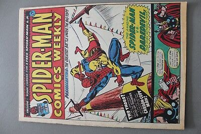 Marvel Comics Spiderman #8 1973 Bronze Age Uk