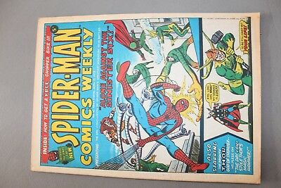 Marvel Comics Spiderman #10 1973 Bronze Age Uk