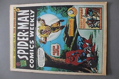 Marvel Comics Spiderman #7 1973 Bronze Age Uk