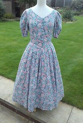 Laura Ashley vintage dress 8 10 12