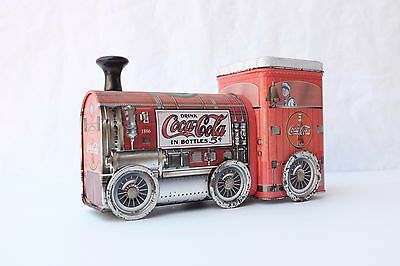 Coca-Cola Collectible Tin Train