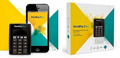 WorldPay Zinc Chip & Pin Reader Secure Card Payment Mobile