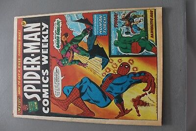 Marvel Comics Spiderman #11 1973 Bronze Age Uk