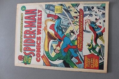 Marvel Comics Spiderman #12 1973 Bronze Age Uk