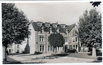 The Gordon Arms Hotel Tomintoul unused RP old postcard