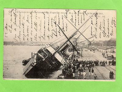SS Le Chile foundered Bordeaux France 1903