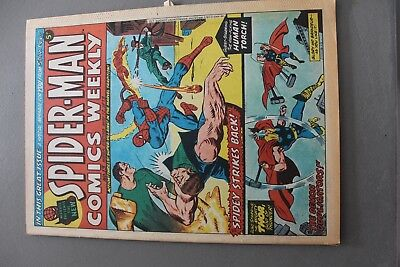 Marvel Comics Spiderman #13 1973 Bronze Age Uk