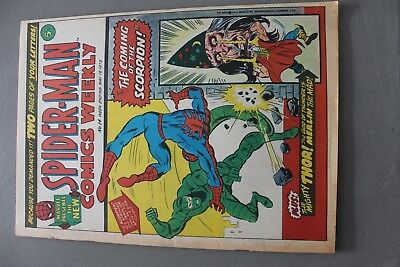 Marvel Comics Spiderman # 14 1973 Bronze Age Uk