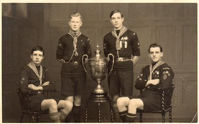 Scout Scouting  Cup RP old pc  C C Brooks Barrow in Furness ?