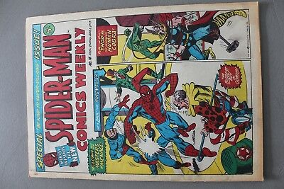 Marvel Comics Spiderman # 16 1973 Bronze Age Uk